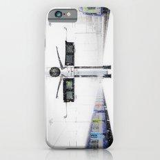 blizzard in Paris iPhone 6 Slim Case