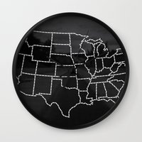 Ride Statewide - USA Wall Clock