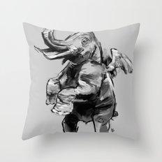 Fly Heavy Throw Pillow