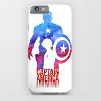iPhone & iPod Case featuring Captain America by Jon Hernandez