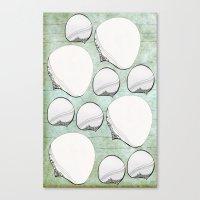 Stone Bubbles Canvas Print