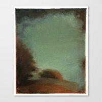 Landscape (untitled 1) Canvas Print