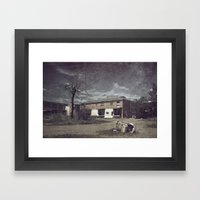 Dead & Gone Framed Art Print