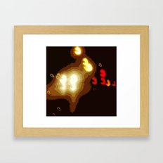 Highway Blues Framed Art Print