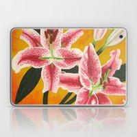 Stargazer Lilies Laptop & iPad Skin