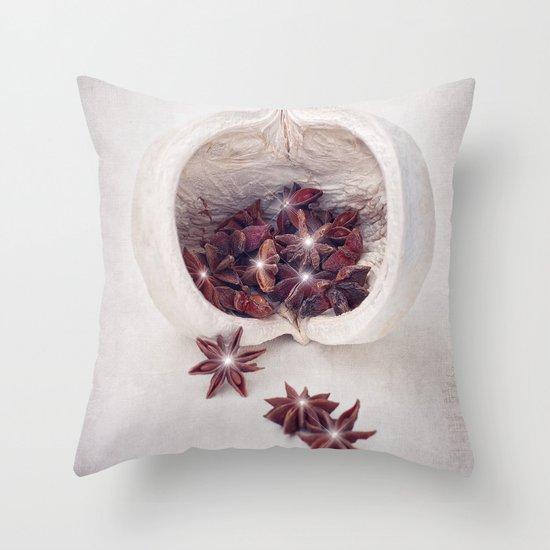 WINTER SECRETS Throw Pillow