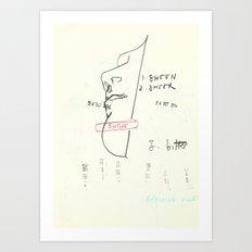 90 7 Art Print