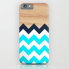 Chevron & Wood iPhone 6s Slim Case