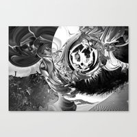 The Kite Canvas Print