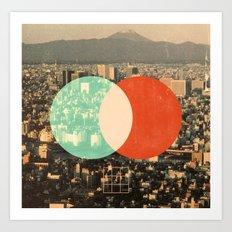 Tokyo Split Art Print