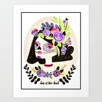 Day Of The Beautiful Dea… Art Print