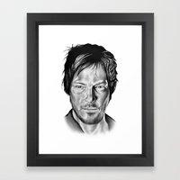 Daryl Dixon Framed Art Print