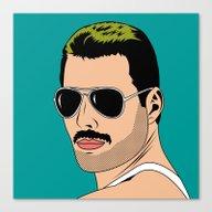 Freddie Canvas Print