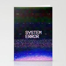 System Error Stationery Cards