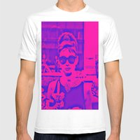 Style Icon Mens Fitted Tee White SMALL