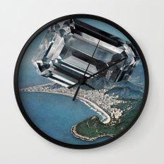 Costa Del Diamante Wall Clock