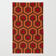 Rug featuring The Shining Carpet by Justin Cybulski