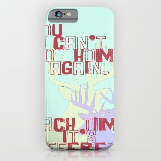 On A Neck, On A Spit (Lyrics) iPhone & iPod Case