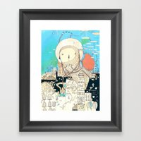 Logic Will Get You From … Framed Art Print