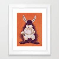 A Clocwork Carrot Framed Art Print