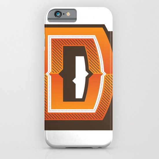 The Letter D iPhone & iPod Case