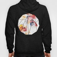 Abstract WWater Colour Hoody