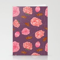 Carnations & Crickets Stationery Cards