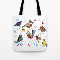 birds2 Tote Bag