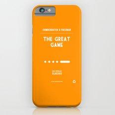 BBC Sherlock The Great Game Minimalist Poster iPhone 6 Slim Case