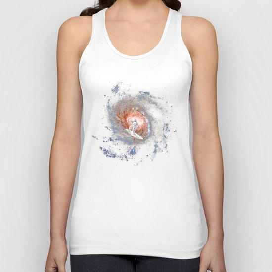 Ride The Spiral Unisex Tank Top