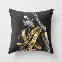 Dangerous - MJ Throw Pillow