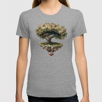 Seed of Love Womens Fitted Tee Tri-Grey SMALL