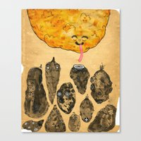 My Favourite Vegetable Canvas Print