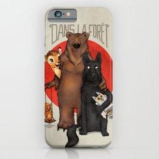 Dans la Forêt Slim Case iPhone 6s