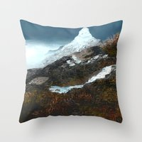 Crucible Crossing Throw Pillow