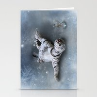 Tiger And Rabbit Stationery Cards