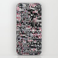 Comfortable Ambiguity (P/D3 Glitch Collage Studies) iPhone & iPod Skin
