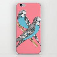 Budgies iPhone & iPod Skin