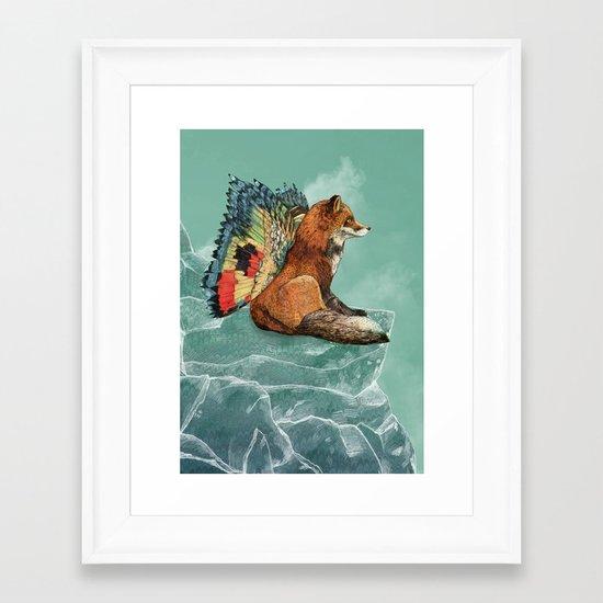 Flying Fox Framed Art Print