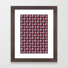 Downright Fierce Framed Art Print