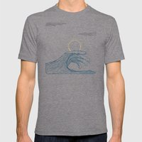 ring of the waves Mens Fitted Tee Tri-Grey SMALL