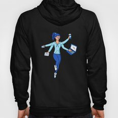 Super Freelance Woman Hoody