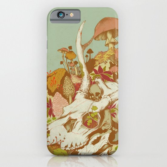 skulls in spring iPhone & iPod Case