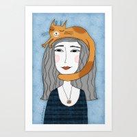 HEAD MASSAGE Art Print