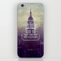 If Your Dreams Do Not Sc… iPhone & iPod Skin