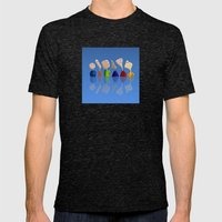 Faces Mens Fitted Tee Tri-Black SMALL