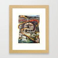 Tourist Trap Framed Art Print