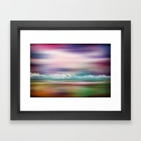 Rainbow-Scape Framed Art Print