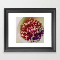 Bowl Of Delight Framed Art Print