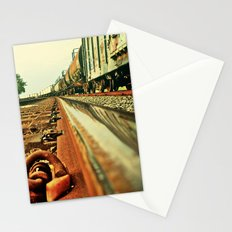 Train Track Stationery Cards